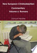 New European Christadelphian Commentary Volume 6 Romans