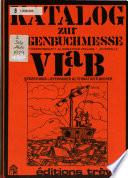 Katalog zur Gegenbuchmesse der Arbeitsgemeinschaft Alternativer Verlage und Autoren E.V.