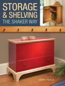 Storage   Shelving  the Shaker Way