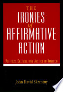 The Ironies Of Affirmative Action PDF