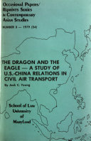 Occasional Papers reprints Series in Contemporary Asian Studies Book