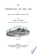 The Chronicles of the Sid: Or, The Life and Travels of Adelia Gates
