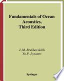 Cover of Fundamentals of Ocean Acoustics