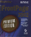 Mastering Microsoft FrontPage 2002
