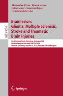 Brainlesion: Glioma, Multiple Sclerosis, Stroke and Traumatic Brain Injuries Pdf/ePub eBook