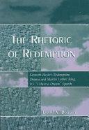 Pdf The Rhetoric of Redemption
