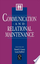 Communication and Relational Maintenance