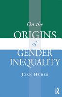 On the Origins of Gender Inequality Pdf/ePub eBook