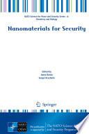 Nanomaterials for Security