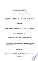 Historical Sketch Of Saint Paul S Cathedral By J Sykes