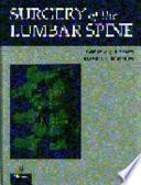 Surgery of the Lumbar Spine