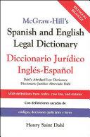 Diccionario Jurídico Inglés-español