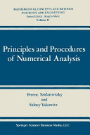 Principles and Procedures of Numerical Analysis Book