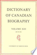 """""""Dictionary of Canadian Biography"""" by George W. Brown, Ramsay Cook, Jean Hamelin"""