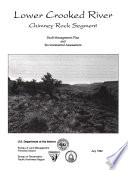 Lower Crooked Wild and Scenic River s   WSR   Chimney Rock Segment  Management Plan and Environmental Assessment  EA  Book