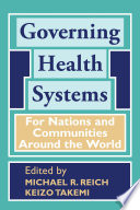 Governing Health Systems Book