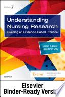 """Understanding Nursing Research E-Book: Building an Evidence-Based Practice"" by Susan K. Grove, Jennifer R. Gray"