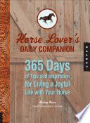 Horse Lover s Daily Companion