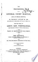 The Proceedings of a General Court Martial