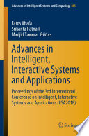 Advances in Intelligent  Interactive Systems and Applications