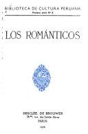 Biblioteca de cultura peruana: Los románticos