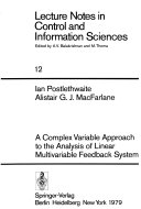 A Complex Variable Approach to the Analysis of Linear Multivariable Feedback Systems