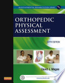 Orthopedic Physical Assessment   E Book