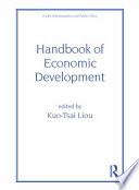 Handbook of Economic Development Book
