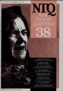 New Theatre Quarterly 38  Volume 10  Part 2