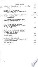 Handbook of Humor and Psychotherapy