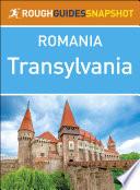 Transylvania  Rough Guides Snapshot Romania
