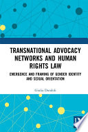 Transnational Advocacy Networks and Human Rights Law