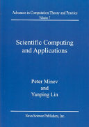 Scientific Computing and Applications