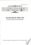 An Outline of Food Law