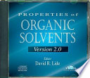 Properties of Organic Solvents