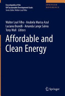 Affordable and Clean Energy Book