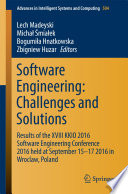 Software Engineering: Challenges and Solutions