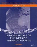 Appendices To Accompany Fundamentals Of Engineering Thermodynamics Eighth Edition Book PDF