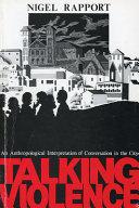 Talking Violence Book