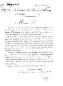La Société du Bazar polonais. Circulaire, de Lyon, le 14 juillet 1831