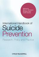 Pdf International Handbook of Suicide Prevention Telecharger
