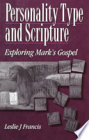 Personality Type Scripture Mark