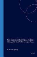 Pan Islam in British Indian Politics