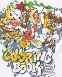 Graffiti Style Coloring Book