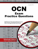 OCN Exam Practice Questions: OCN Practice Tests and Exam Review for ...