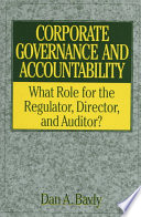 Corporate Governance and Accountability Book