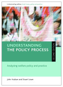 Understanding the Policy Process  Second Edition