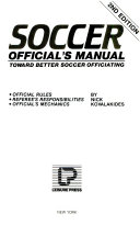 Pdf Soccer Official's Manual