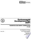 Environmental Development Plan  EDP