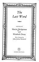 The Last Word Pdf [Pdf/ePub] eBook